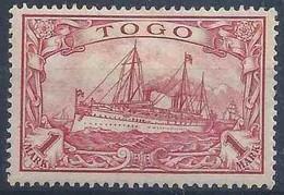 Kaiserjacht 16, 1 Mark Rot *         1900 - Colony: Togo
