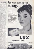 (pagine-pages)PUBBLICITA' LUX(+E.MARTINELLI)   Oggi1957/19. - Altri