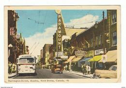 HALIFAX:  BARRINGTON  STREET  -  CROSS  FOLD  -  TO  ITALY  -  FP - Halifax