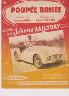 Johnny Hallyday Partition Poupée Brisée 1962 - Non Classificati