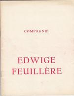 COMPAGNIE EDWIGE FEUILLÉRE-=PARTAGE DE MIDI=OPUSCOLO DI 20 PAGINE-ANNO 1948 - - Programs