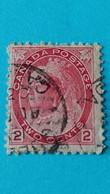 CANADA : Timbre De 1898 - Portrait De La Reine Victoria - Used Stamps