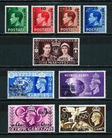 Marruecos (Británico) Nº 66/69-70-81/84 ... - Uffici In Marocco / Tangeri (…-1958)