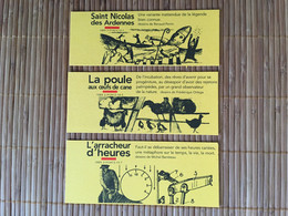 Marque Page Saint Nicolas Poules X3 - Segnalibri