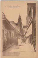 MAROC : Tanger Rue Des Siaghins Et L'église Catholique ; édit. Lebrun Frères N° 14 - Tanger