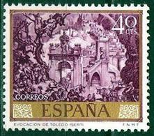 España. Spain. 1966. Jose Maria Sert. Evocacion De Toledo. Evocation Of Toledo - Moderni