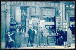 FRANCE - SANCOINS - L'Imprimerie.  ( Ed. E. Moreau Nº 42 ) Carte Postale - Negozi