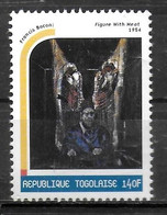 TOGO  N° 1706  * *  Millennium Tableaux  Francis Bacon Viande - Altri