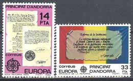 Andorra. 1982. EUROPA Cept - Ungebraucht