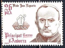 Andorra. 1983. Bishops Of Urgel. Coprincipe Joan Laguarda Fenollera - Ungebraucht
