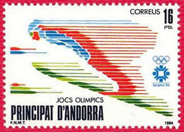 Andorra. 1984. Olympic Winter Games. Sarajevo - Ungebraucht