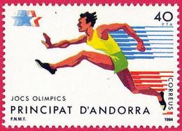 Andorra. 1984. Los Angeles. Summer Olympic Games - Ungebraucht