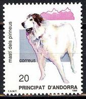 Andorra. 1988. Dogs. Pyrenean Mastiff - Ungebraucht