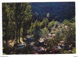 12 CONQUES EN ROUERGUE Vers Decazeville St Cyprien Sur Dourdou Le Camping BEAU RIVAGE Sur Les Bords Du DOURDOU - Decazeville