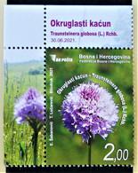 BOSNIE-HERZEGOVINE - MOSTAR - ORCHIDEE 2021 - NEUF ** - NOUVEAUTE - COIN DE FEUILLE - Orchidee