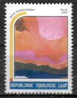 TOGO  N° 1709  * *  Millennium Tableaux  Frankenthaler - Altri