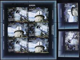 BOSNA & H. - REPUBLIKA SRPSKA BANJA LUKA - EUROPA CEPT  BOOKL+SET - ASTRONOMY  TELESKOPE - **MNH - 2009 - Astronomia