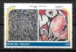 TOGO  N° 1712  * *  Millennium Tableaux  Lee Krasner - Altri