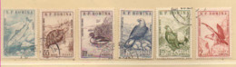 Rumänien 1960 MiNr.:1833-1838 Fauna Satz Gestempelt; Romania Used Scott: 1315-1317; C76-C78 Yt: 1670-1972; PA107-PA109 - Gebraucht