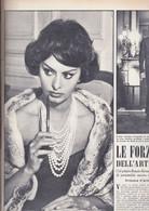 (pagine-pages)SOFIA LOREN  Oggi1958/50. - Altri