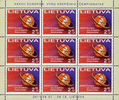 Lithuania 2011 XXXVII EUROPEAN MEN'S BASKETBALL CHAMPIONSHIP. Mi 1055 Klb - Pallacanestro