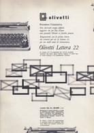 (pagine-pages)PUBBLICITA' OLIVETTI   Oggi1958/50. - Altri