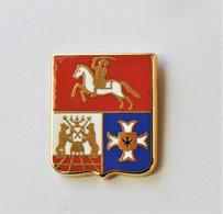 Pin's Blason Novgarod Signé Fondation Galitzine - Belle Qualité -rc - Altri