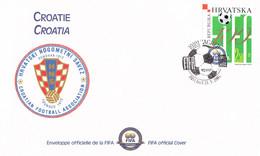 Croatia FDC 2004 FIFA Centenary  (DD31-41) - Storia Postale