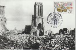 France 1994 50ème Anniversaire De La Bataille De Caen - Seconda Guerra Mondiale
