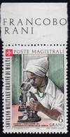 MALTA ORDINE - MICROSCOM  LEPROSY  SOMALIA - **MNH - 1973 - Medicina