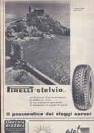 (pagine-pages)PUBBLICITA' PIRELLI   Oggi1952/28. - Altri