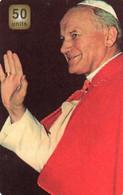 UNITED STATES - PREPAID - MCI - THEMATIC POPE JOHN PAUL II KAROL WOJTYLA - Other