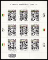 Italia / Italy 2015: Minifoglio Juventus / Juventus Sheetlet ** - Club Mitici