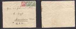 German Col-Swa. 1910 (24 May) Kaikfortein - Germany, Mannheim. Multifkd Env At 20 Pf Rate, Cds. - Non Classificati