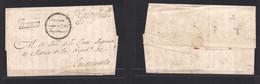 "Guatemala. C. 1850s. Suchiquitepec - Guatemala. E With Town Name + ""Franco"". VF. - Guatemala"