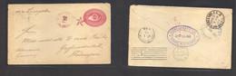 Guatemala. 1892 (24 Dec) Senalu, Alta Verapaz - Germany, Grossrudenstedt (17 Jan 93) Via Livingstone - New Orleans - NY. - Guatemala