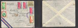 Guatemala. 1940 (19 Enero) GPO - Lima, Peru (22 Jan) French Diplomatic Mail. Air Multifkd Env. Fine Better Scarce Dest. - Guatemala