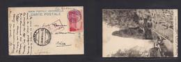 Japan. 1915 (19 Nov) Yokohama - Switzerland, Basel Via Siberia. Harnna View Single 4 Sen Red Commemorative Fkd Ppc. Russ - Non Classificati