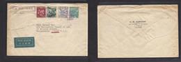 Japan. 1939 (11 July) Yokohama, Nippon - London, Westminster, UK. Air Multifkd Env Reverse D. Momson, The Shall Cº. - Non Classificati