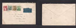 Japan. C. 1939-40 (30 Oct) Air Multifkd Env To London, UK. Fine. - Non Classificati