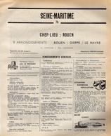ANNUAIRE - 76 - Département Seine Inférieure - Année 1969 - édition Didot-Bottin - 362 Pages - Pub SNCF - Elenchi Telefonici