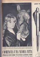 (pagine-pages)BRIGITTE BARDOT   Oggi1958/13. - Altri