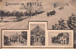 Souvenir De RUFFEC - La Mairie - Le Portail De L'Eglise - Vieilles Maisons Du Pontereau - Ruffec