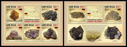 GUINEA BISSAU 2021 - Minerals, M/S + S/S. Official Issue [GB210301] - Guinea-Bissau