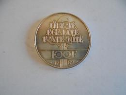 100 FRANCS 1989 DROITS DE L HOMME - O. 100 Francs