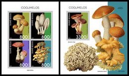 GUINEA BISSAU 2021 - Mushrooms, M/S + S/S. Official Issue [GB210303] - Guinea-Bissau