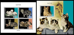 GUINEA BISSAU 2021 - Cats, M/S + S/S. Official Issue [GB210305] - Guinea-Bissau