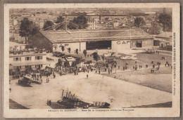 CPA 93 - LE BOURGET - Aéroport Du Bourget - Base De La Compagnie Aérienne Française - TB ANIMATION AVIONS Salon ? 1933 - Aeródromos