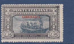 STAMPS-ITALY-CIRENAICA-1924-UNUSED-MH*-SEE-SCAN - Cirenaica