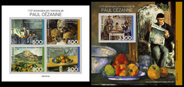 GUINEA BISSAU 2021 - Paul Cezanne, M/S + S/S. Official Issue [GB210315] - Guinea-Bissau